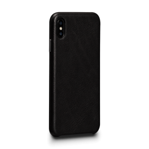 Sena Deen iPhone XR LeatherSkin Black