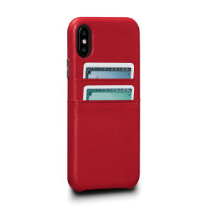 Sena Kyla iPhone Xs Max SnapOn Wallet Red