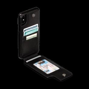 Sena iPhone Xs Max Wallet Skin Black
