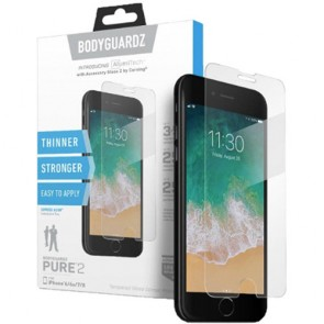 BodyGuardz Pure 2 for iPhone X/Xs - Aluminosilicate Glass Screen Protector