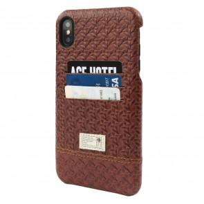 HEX iPhone X/Xs SHIELD WALLET WICKER