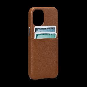 Sena SnapOn Wallet iPhone 12 Pro Max Brown