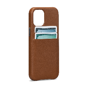 Sena SnapOn Wallet iPhone 12/iPhone 12 Pro Brown