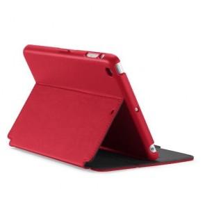 Speck iPad mini, 2 and 3 StyleFolio Dark Poppy Red/ Slate Grey
