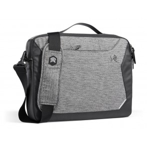 "STM Myth laptop brief 8L designed for 15/16"" granite black"