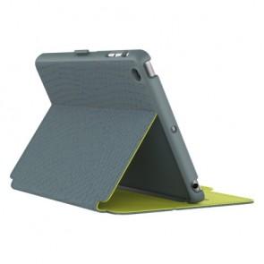 Speck iPad mini, 2 and 3 StyleFolio RattleSkin RattleSkin Grey/Anti-freeze Yellow