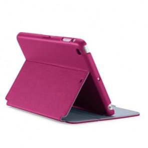 Speck iPad mini, 2 and 3 StyleFolio Fuchsia Pink / Nickel Grey