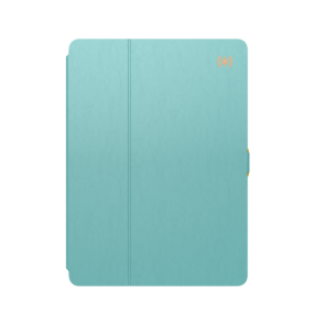 Speck 10.5-Inch iPad Pro Balance Folio - Surf Teal/Mykonos Blue/Cantaloupe Orange