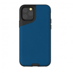 Mous iPhone 11 Pro Max Contour Case  Blue Leather