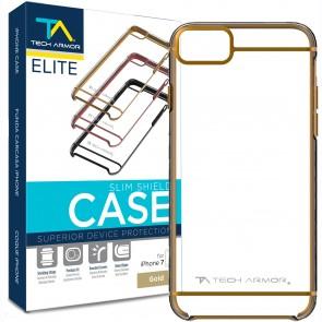 Tech Armor Elite Slim Shield iPhone 7 Case Gold