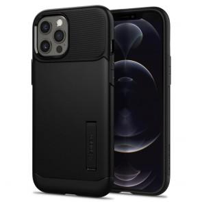 Spigen iPhone 12 Pro Max Case Slim Armor Black