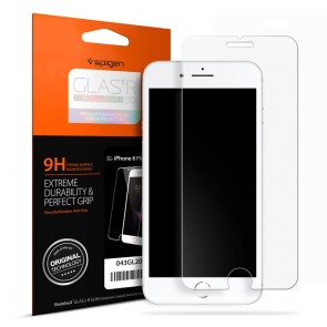 Spigen iPhone 8 Plus/7 Plus Glas.tR SLIM HD Screen Protector Clear