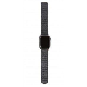 Decoded Leather Magnetic Traction Strap Lite   Series 6 / SE / 5 / 4 (40mm) / 3 / 2 / 1 (38mm) Black