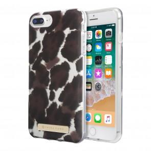 Trina Turk Translucent Case (1-PC) for iPhone 8 Plus, iPhone 7 Plus & iPhone 6 Plus/6s Plus- Canyon Cat Brown/Black/Tan Translucent