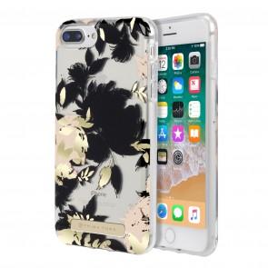 Trina Turk Translucent Case (1-PC) for iPhone 8 Plus, iPhone 7 Plus & iPhone 6 Plus/6s Plus- Wintergarden Black/Blush/Gold Foil/Clear
