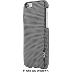 TUMI Leather Snap Case for iPhone 6/6s - Split Leather Grey