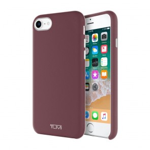 TUMI Leather Wrap Case for iPhone 8, iPhone 7 - Burgundy