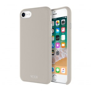 TUMI Leather Wrap Case for iPhone 8, iPhone 7 - Grey