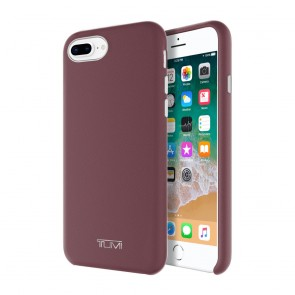 TUMI Leather Wrap Case for iPhone 8 Plus & iPhone 7 Plus - Burgundy