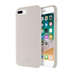 TUMI Leather Wrap Case for iPhone 8 Plus & iPhone 7 Plus - Grey