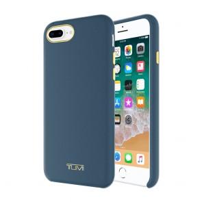 TUMI Leather Wrap Case for iPhone 8 Plus & iPhone 7 Plus - Navy