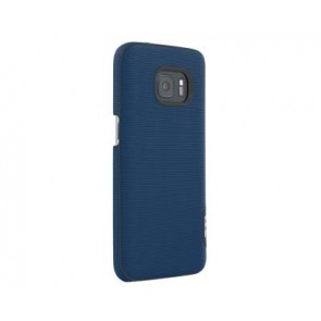 TUMI Leather Snap Case for Samsung Galaxy S7 -Split Leather Atlantic Blue