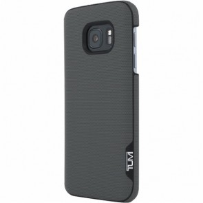 TUMI Leather Snap Case for Samsung Galaxy S7 - Split Leather Grey
