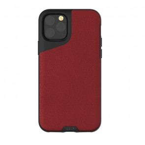 Mous iPhone 11 Pro Contour Case Red Leather