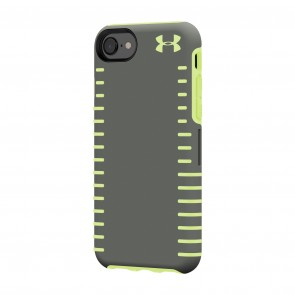 Under Armour UA Protect Grip Case for iPhone 8, iPhone 7 & iPhone 6/6s - Graphite/Quirky Lime