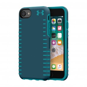 Under Armour UA Protect Grip Case for iPhone 8, iPhone 7 & iPhone 6/6s - Tourmaline Teal/Desert Sky