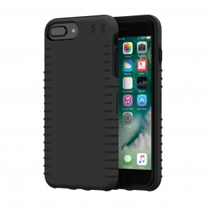 Under Armour UA Protect Grip Case for iPhone 8 Plus, iPhone 7 Plus & iPhone 6 Plus/6s Plus - Black/Black