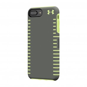 Under Armour UA Protect Grip Case for iPhone 8 Plus, iPhone 7 Plus & iPhone 6 Plus/6s Plus - Graphite/Quirky Lime