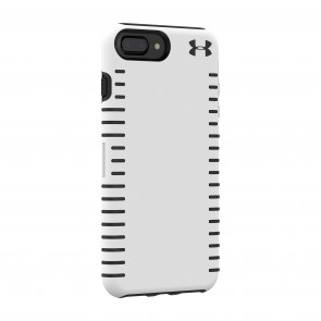 Under Armour UA Protect Grip Case for iPhone 8 Plus, iPhone 7 Plus & iPhone 6 Plus/6s Plus - White/Graphite