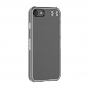 Under Armour UA Protect Verge Case for iPhone 8 & iPhone 7 -  Clear/Graphite/Gunmetal Logo