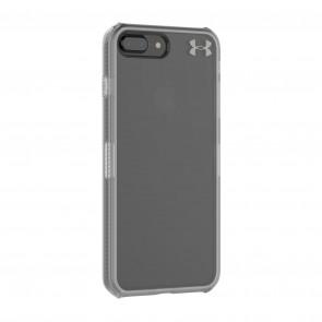 Under Armour UA Protect Verge Case for iPhone 8 Plus & iPhone 7 Plus -  Clear/Graphite/Gunmetal Logo