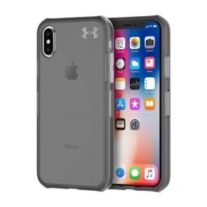 Under Armour UA Protect Verge Case for iPhone X/Xs - Translucent Smoke/Black/Metallic