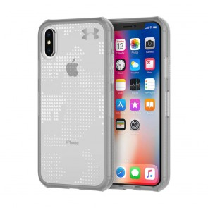 Under Armour UA Protect Verge Case for iPhone X - Translucent Utility Graphite/Elemental