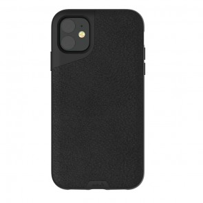 Mous iPhone 11 Contour Case Black Leather