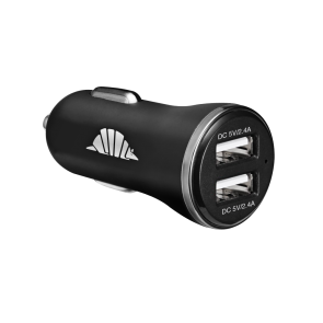 intelliARMOR intelliARMOR Car Charger, 2 Port, 4.8 Amp - Black
