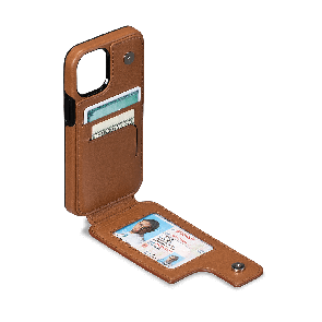 Sena Walletskin for iPhone 12/iPhone 12 Pro Brown