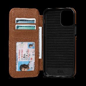 Sena WalletBook iPhone 12 Pro Max Brown