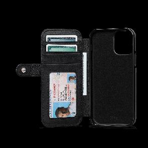 Sena WalletBook Classic iPhone 12 Pro Max Black