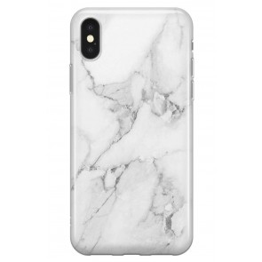 Recover White Marble iPhone XS Max case