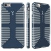 Speck Products CandyShell Grip Case for iPhone 6 Plus/6S Plus - Shadow Blue/Nickel Grey