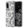 kate spade new york Protective Hardshell Case (1-PC Comold) for Samsung Galaxy S20 Hollyhock Floral Clear/Cream with Stones