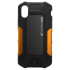 Element Case iPhone X/Xs Formula black/orange
