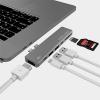 intelliARMOR LynkHUB HD+ 7-in-1 USB C Hub - Space Gray