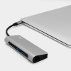 intelliARMOR lynkHub MAX 8 in 1 USB C Hub - Space Gray