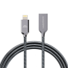intelliARMOR MetaCable Lx 6-ft Lightning Cable (MFI) Space Grey
