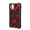 Urban Armor Gear Monarch Case For Apple iPhone 11 - Crimson And Black